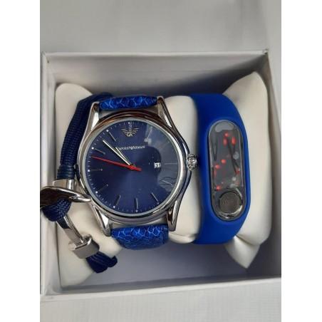 Double watch + bracelet set