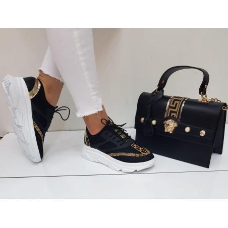 Versace Shoe + Bag