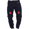 Form-fitting jeans